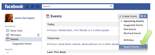 Screen Shot 2012 03 06 at 10.55.32 PM How To See Your Facebook Events On Your iPhone