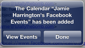 Screen Shot 2012 03 06 at 11.13.28 PM How To See Your Facebook Events On Your iPhone