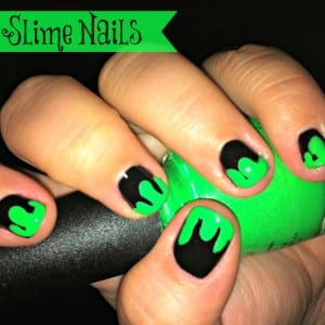 slime nails text 300x300 Halloween Slime Nails