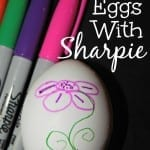 Decorate Easter Eggs With Sharpie