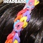 Rainbow Loom Headband