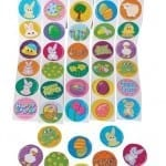 easter stickers 150x150 100 Things To Put In Easter Eggs {That Arent Candy!}