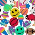 mini erasers 150x150 100 Things To Put In Easter Eggs {That Arent Candy!}