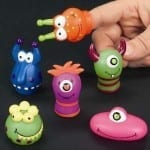 monster finger puppets 150x150 100 Things To Put In Easter Eggs {That Arent Candy!}
