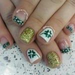 patty nails 150x150 St. Patricks Day Nail Art Ideas