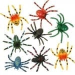 plastic spiders 150x150 100 Things To Put In Easter Eggs {That Arent Candy!}