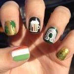 tumblr mjiyemwc8o1rrvviro1 1280 150x150 St. Patricks Day Nail Art Ideas