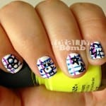 back to school notebook nail art