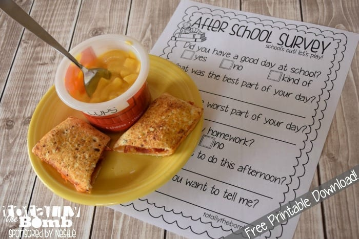 free printable after school survey download Free Printable After School Survey