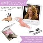 #AllDayLook-Twitter-Party-8-19