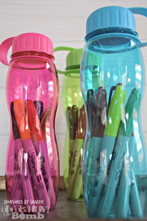 back to school sharpie teacher gift 5 Minute Teacher Gift for Under 5 Dollars
