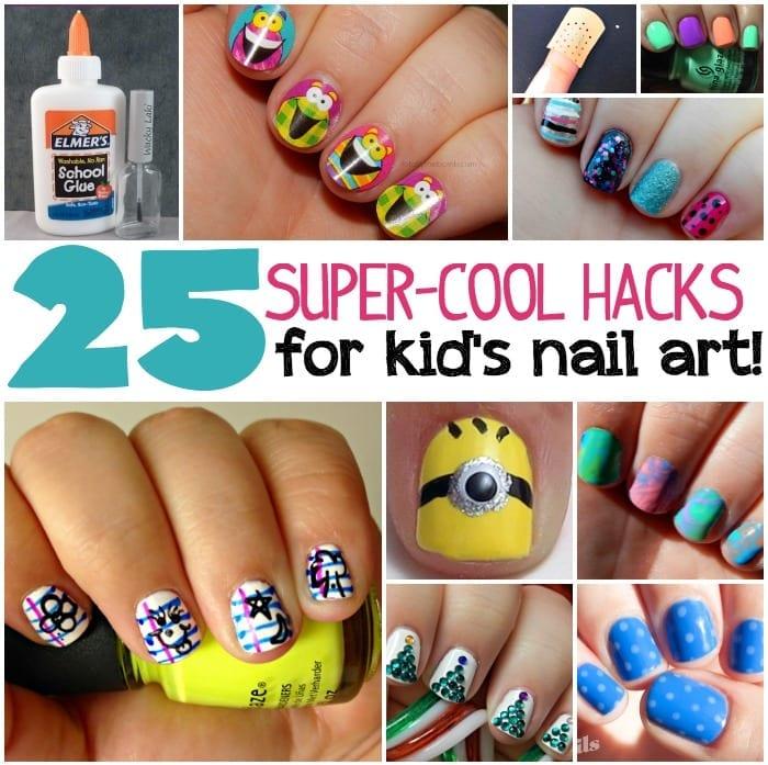 25 super cool nail art hacks 25 Kids Nail Art Hacks