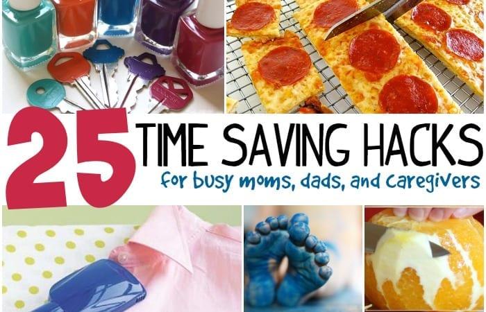 25 time saving hacks