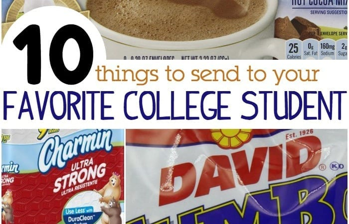 10 things to send to your favorite college student