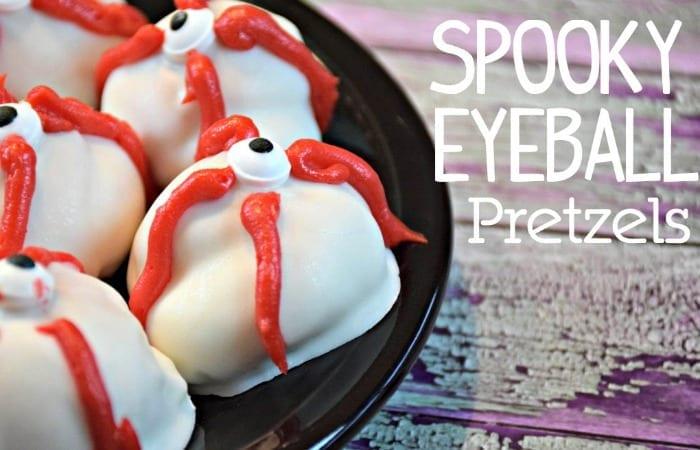 Spooky Eyeball Pretzels From Imperial Sugar