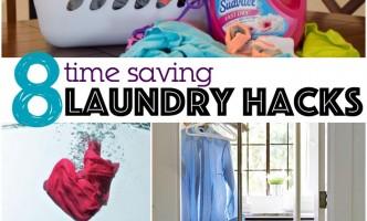 time saving laundry hacks
