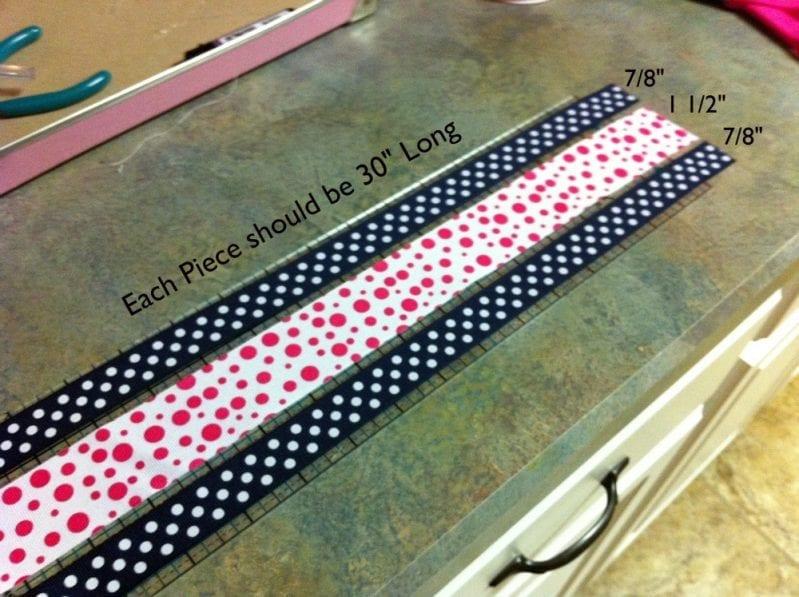 Embellished cheer bow tutorial with mini bowdabra bowdabra blog.