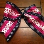 How To Make a Cheer Bow Using Spandex