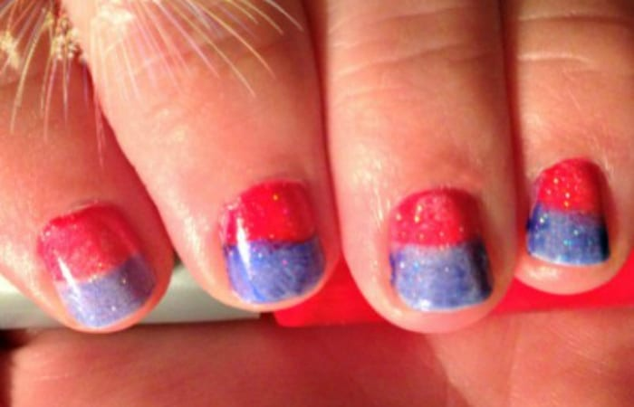 How To Make Sparkler Nails This Independence Day!