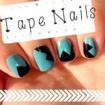 Tape Nails from totallythebomb.com