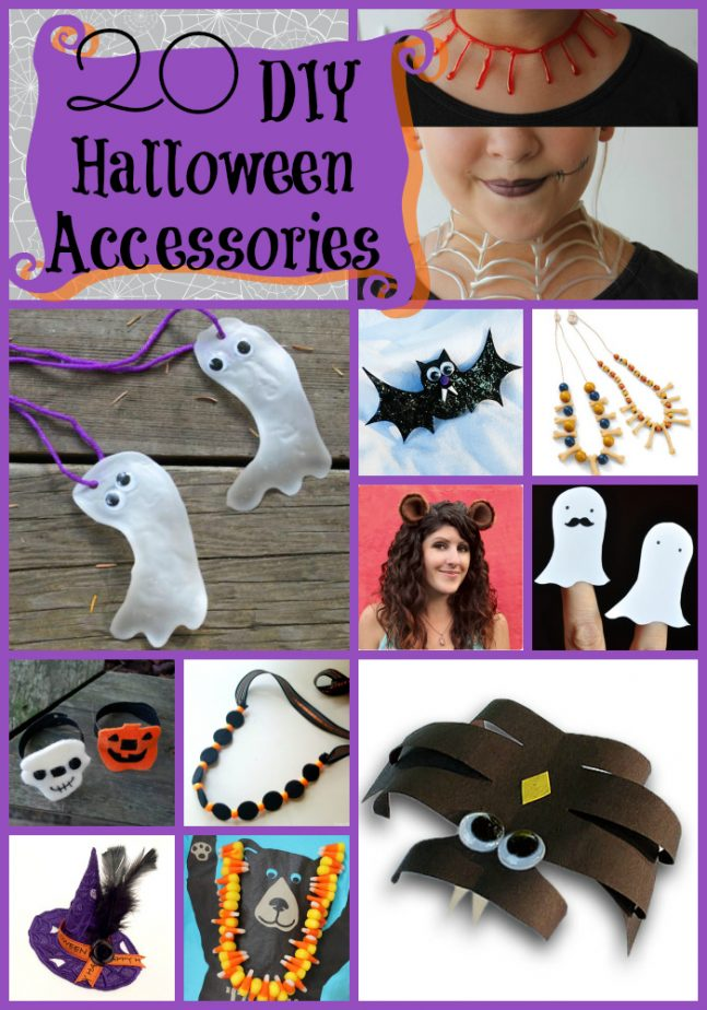 20 Diy Halloween Accessories For Kids