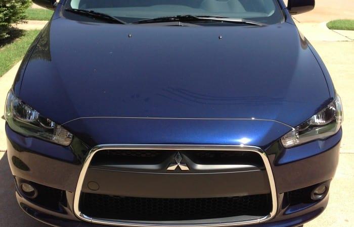 Driving Around in The Mitsubishi Lancer