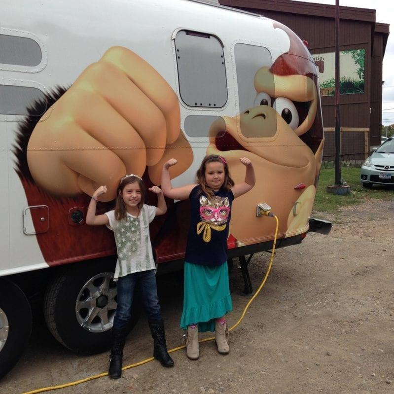 Nintendo Van of Awesomeness