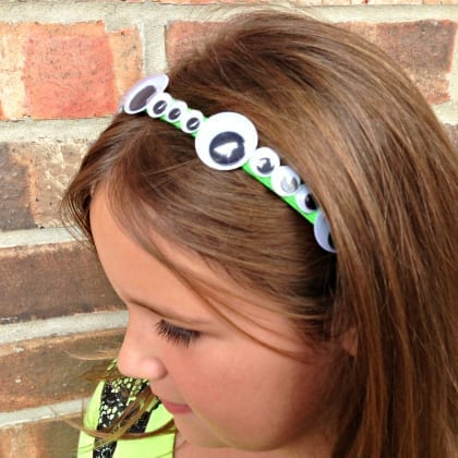 How To Make Your Own Google Eye Headband