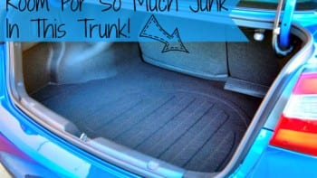 Junk In The Trunk Kia Forte