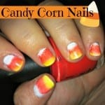 Candy Corn Nails from Totally The Bomb.com