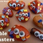 Pebble Monsters from Jennifer's Little World