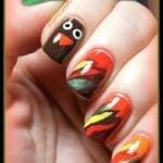 Turkey Nails by Pointless Cafe