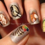Thanksgiving Feast Nails by The Trace Face Philes