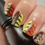 Falling Leaves Nails by Xo, Noelle