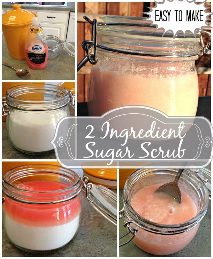 Easy To Make 2 Ingredient Sugar Scrub from Totally The Bomb.com