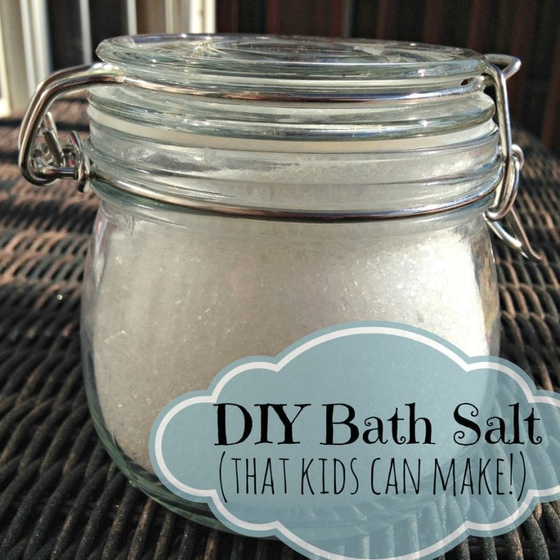 Make Your Own Bath Salt