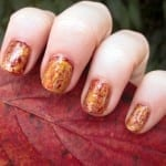 Fall Foilage Nail Art Mani from Birchbox