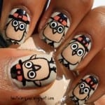 Cute Little Turkeys by Haute Lacquer