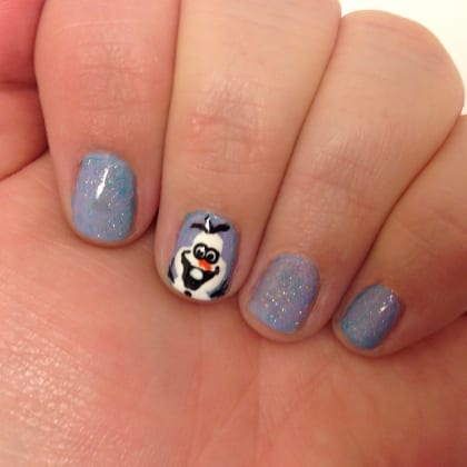 Disney's Frozen Nail Art