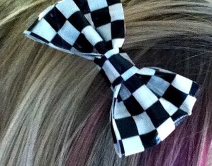 Duct Tape Hairbow