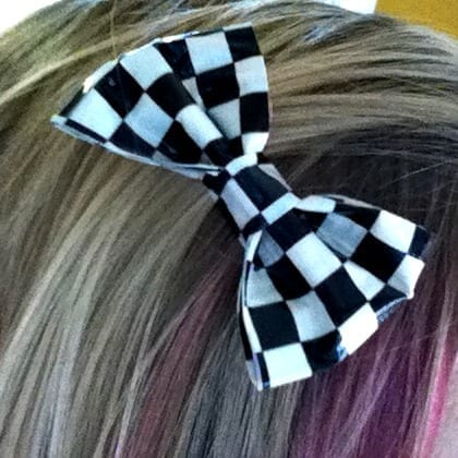 How To Make a Little Duct Tape Bow