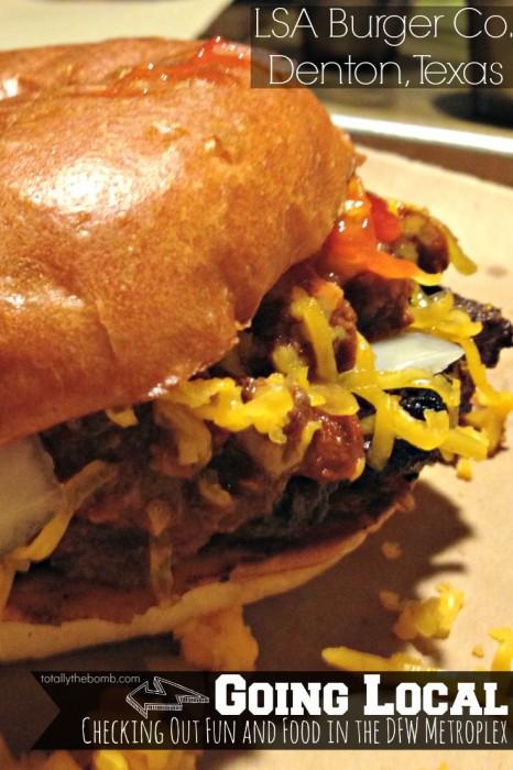 LSA Burger CO in Denton Texas