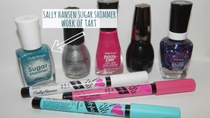 Sally Hansen Sugar Shimmer Work of Tart #CBIAS #Shop