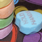 Play a Valentine's Stacking Game