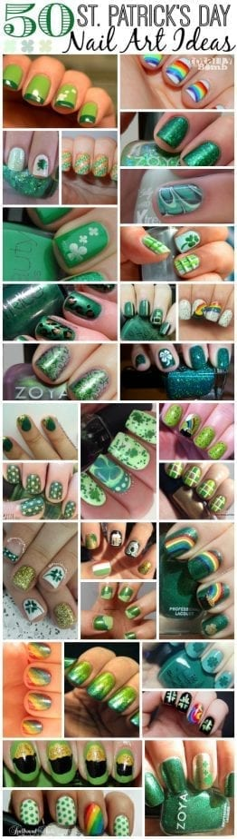 50 St Patricks Day Nail Art Ideas