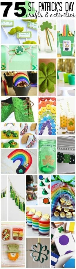 75 St Patricks Day Crafts and Activities