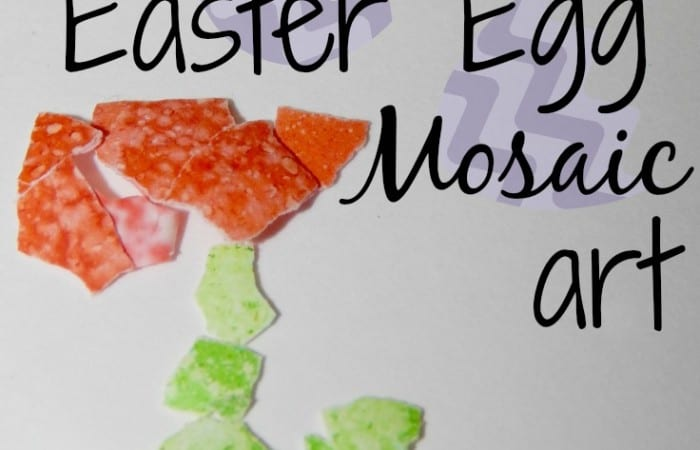 How To Make Easter Egg Mosaic Art