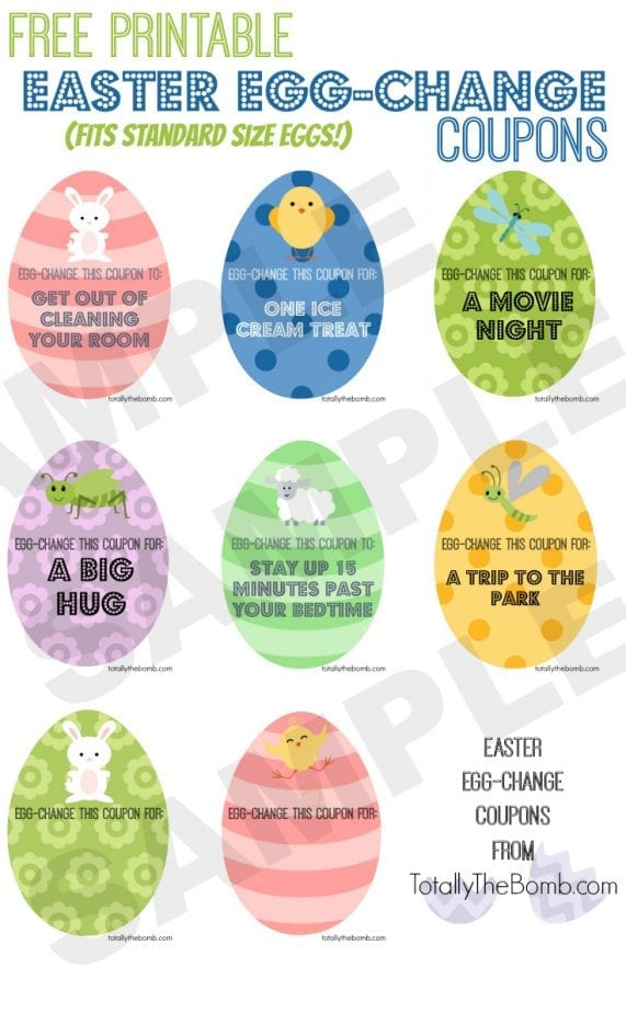 photograph regarding Egg Coupons Printable named Absolutely free Printable Easter Egg-Variation Discount codes