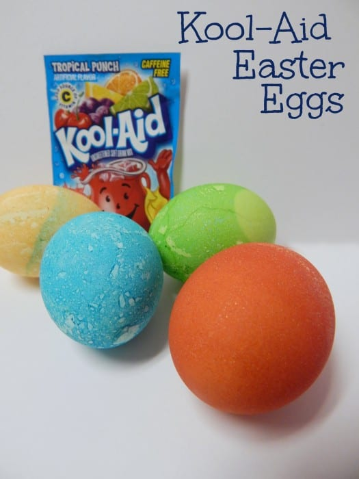 Kool-Aid Dyed Easter Eggs