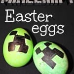 How To Make Minecraft Creeper Easter Eggs with Hallecake
